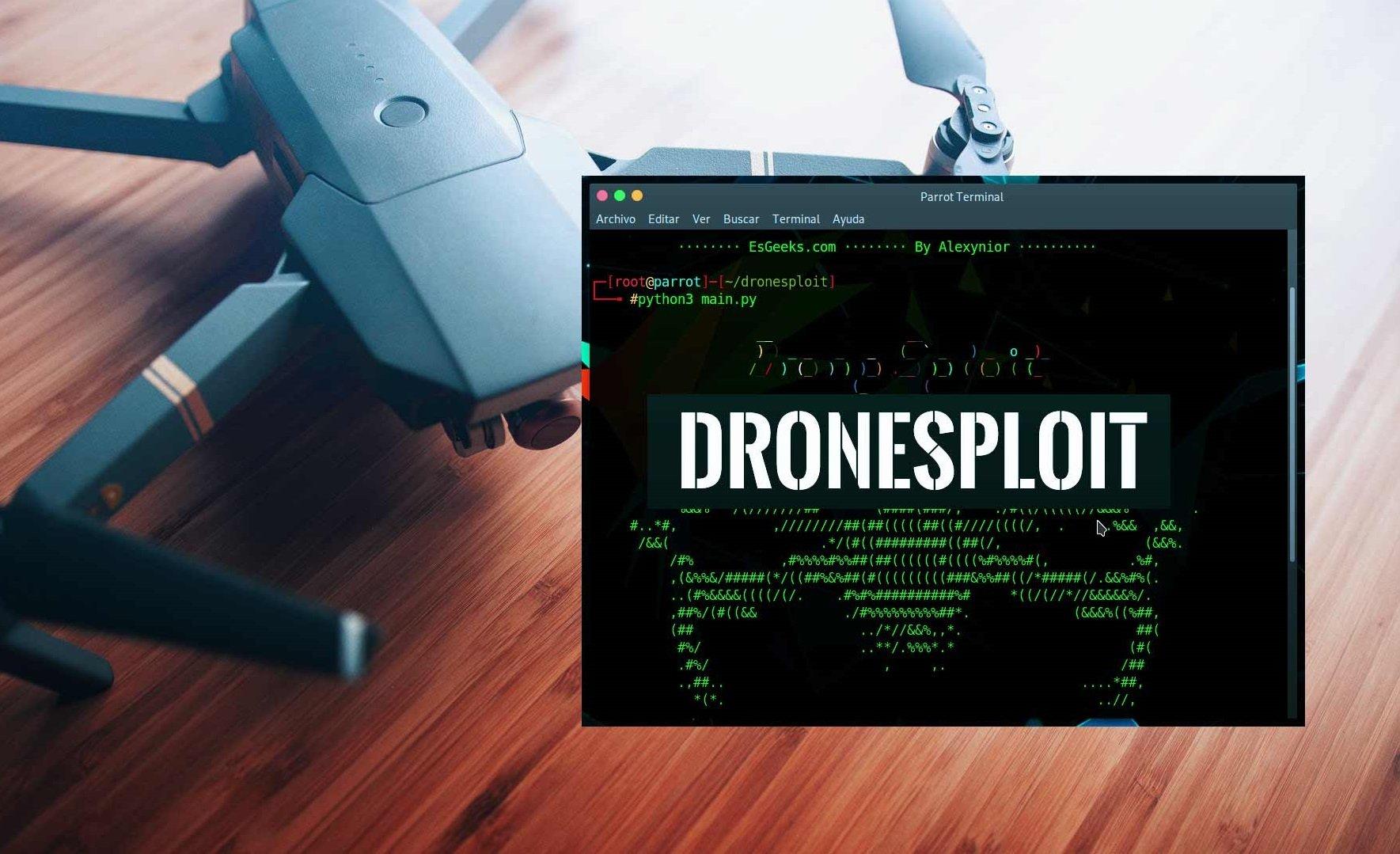 DroneSploit Drone Hacking Exploit DroneSec Analysis
