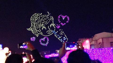 Drone Light Show Taiwan