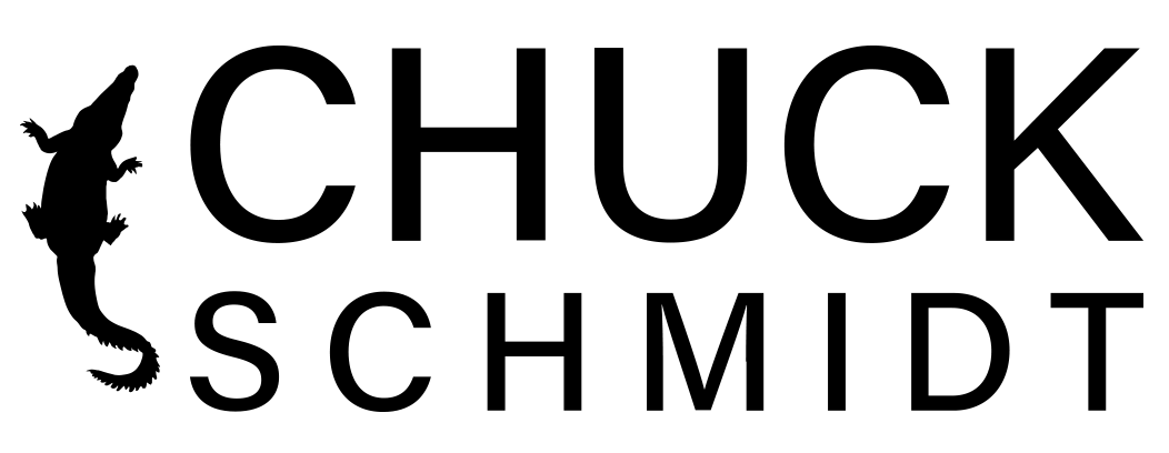 Chuck Schmidt Crocodile Logo