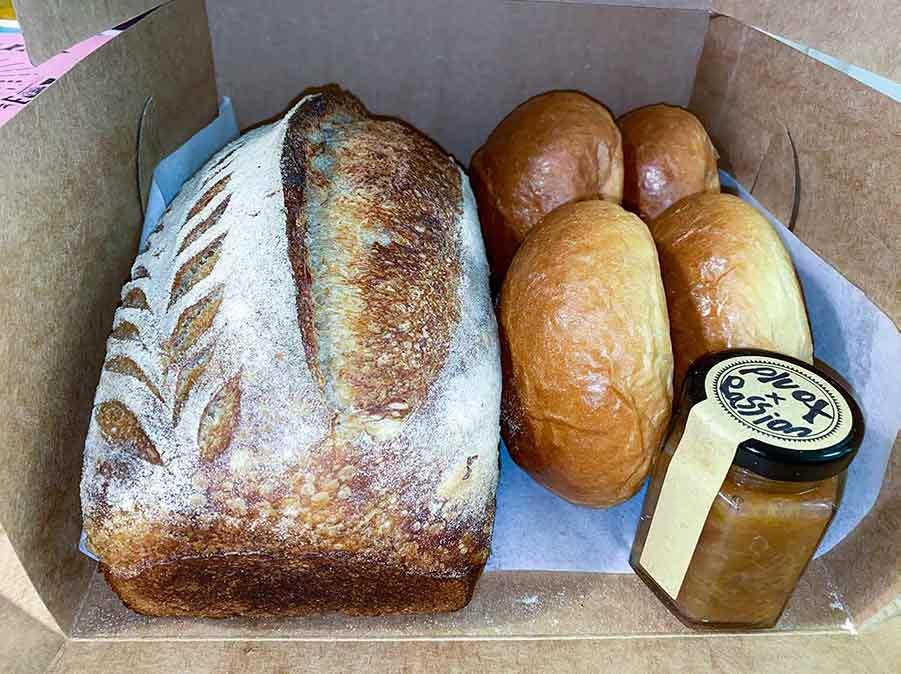Bakery Box from Gemini Bakehouse