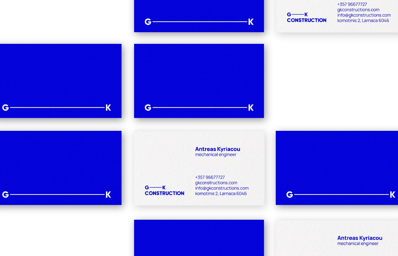 gk-business cards-desk