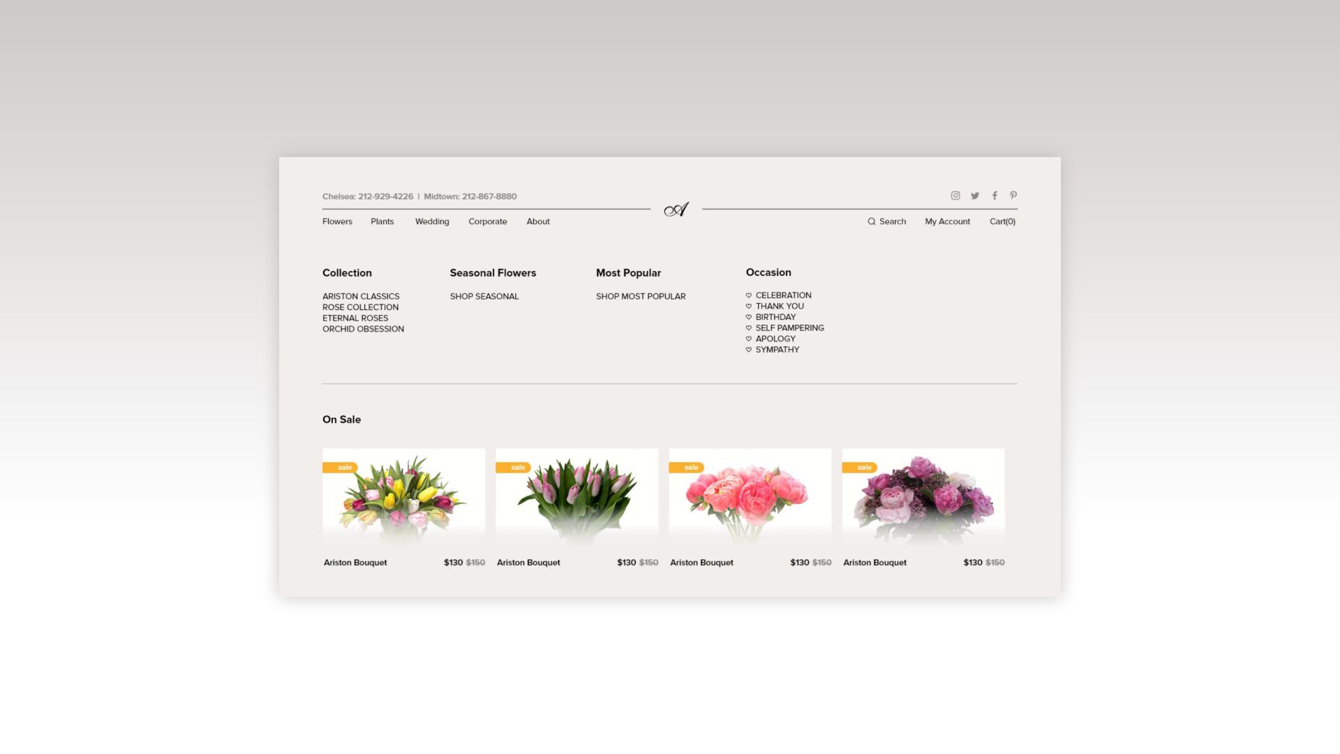 ariston flowers