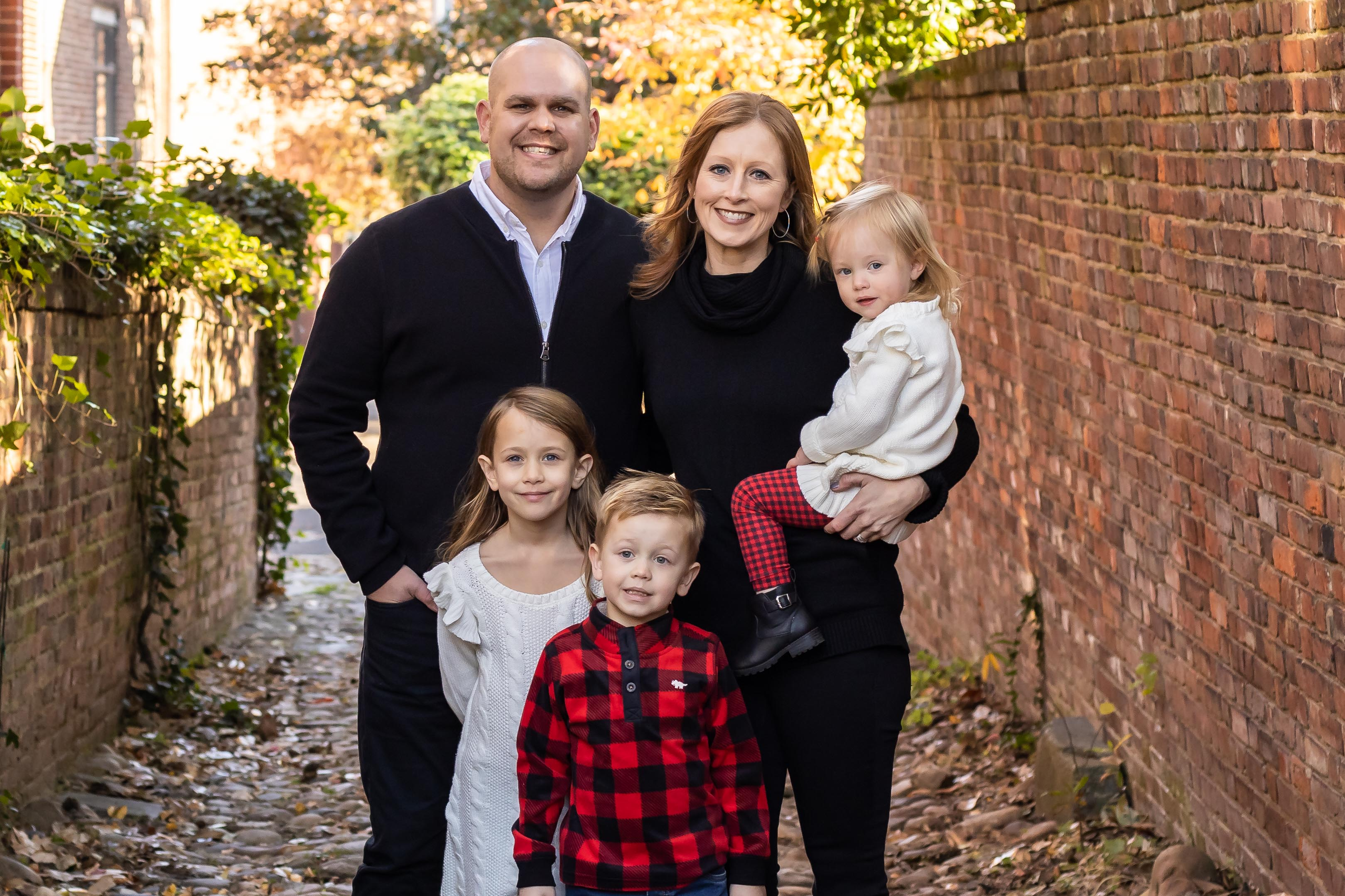 Photo of Burroughs Family from Catalyst Church