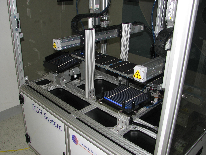 identification process cracks in solar module