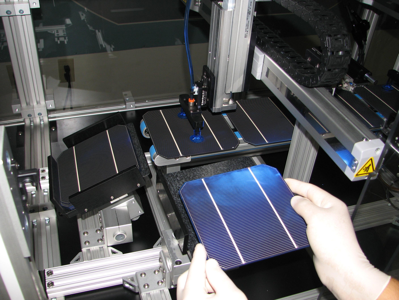 solar cells reduce yield of solar module production