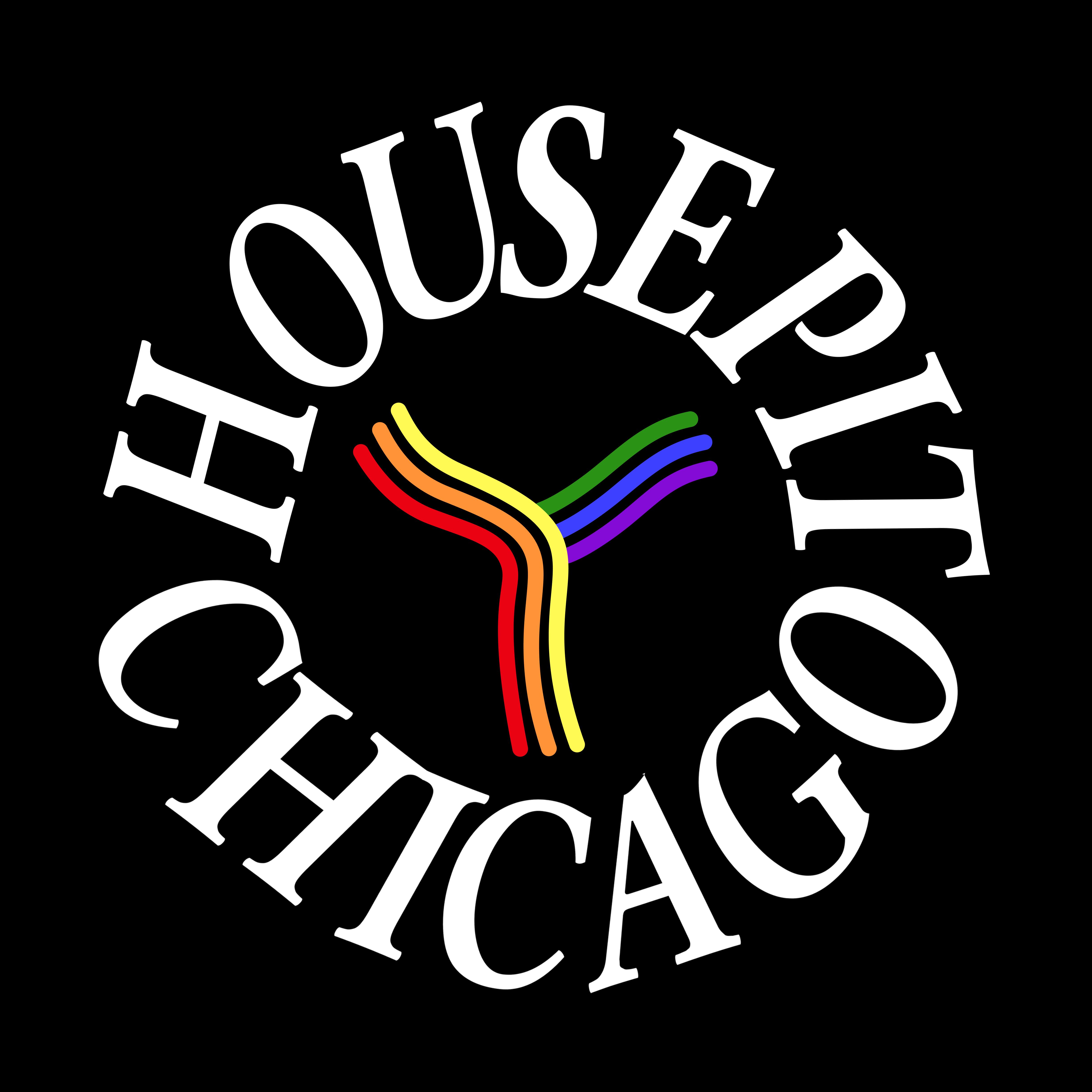 Housepit Logo LGBTQ Pride