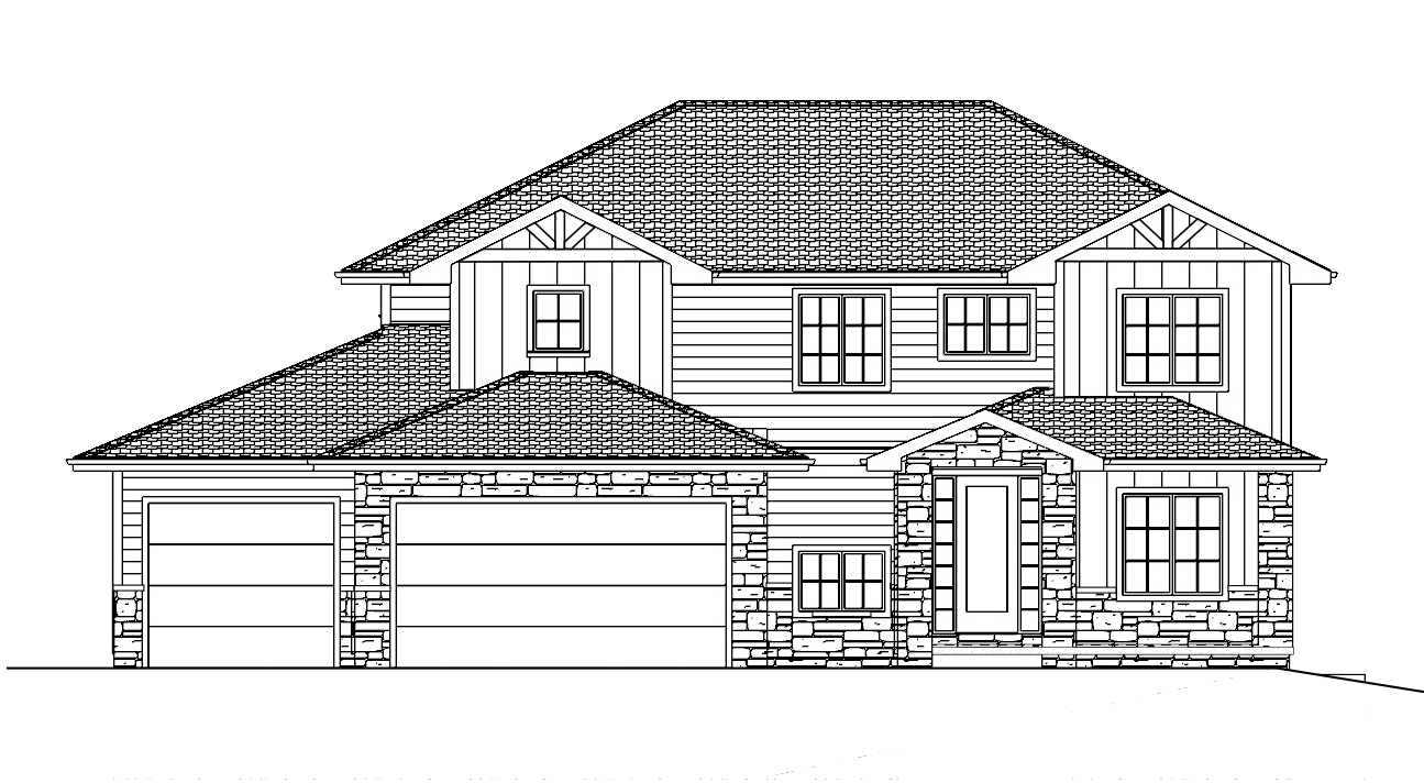 The 2653   2-Story Plan Exterior