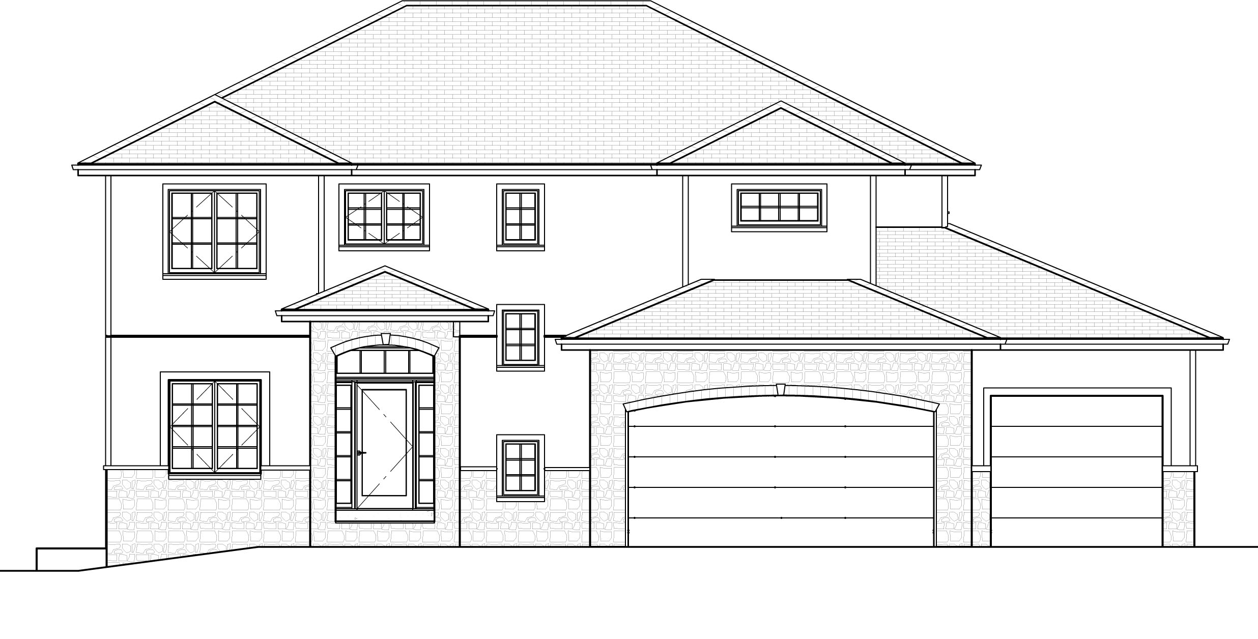 The 2791   2-Story Plan Exterior