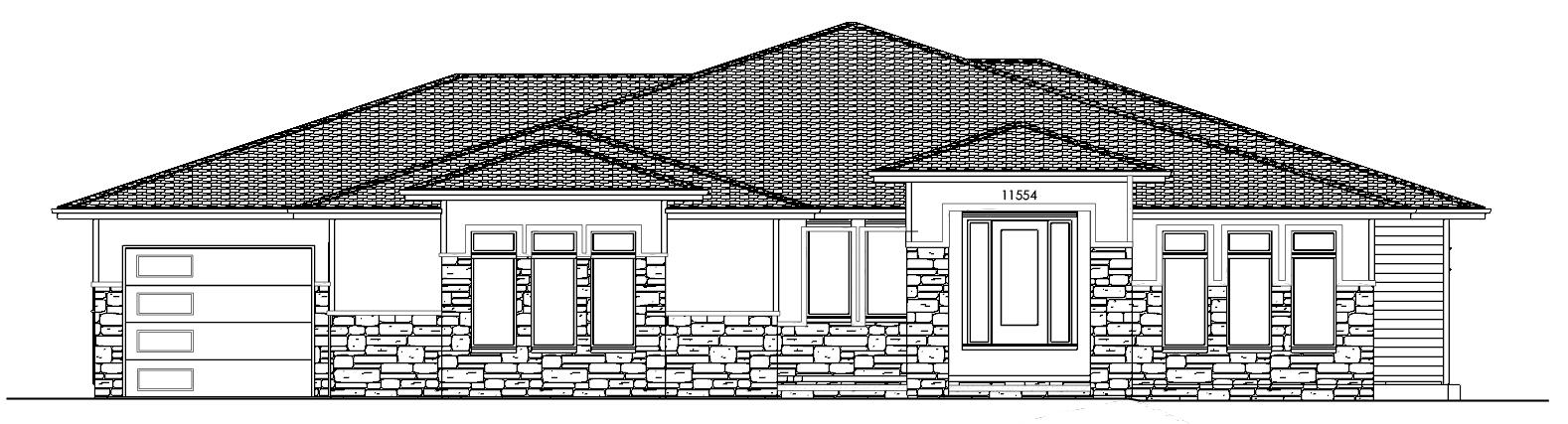 The 2206 Ranch Plan Exterior