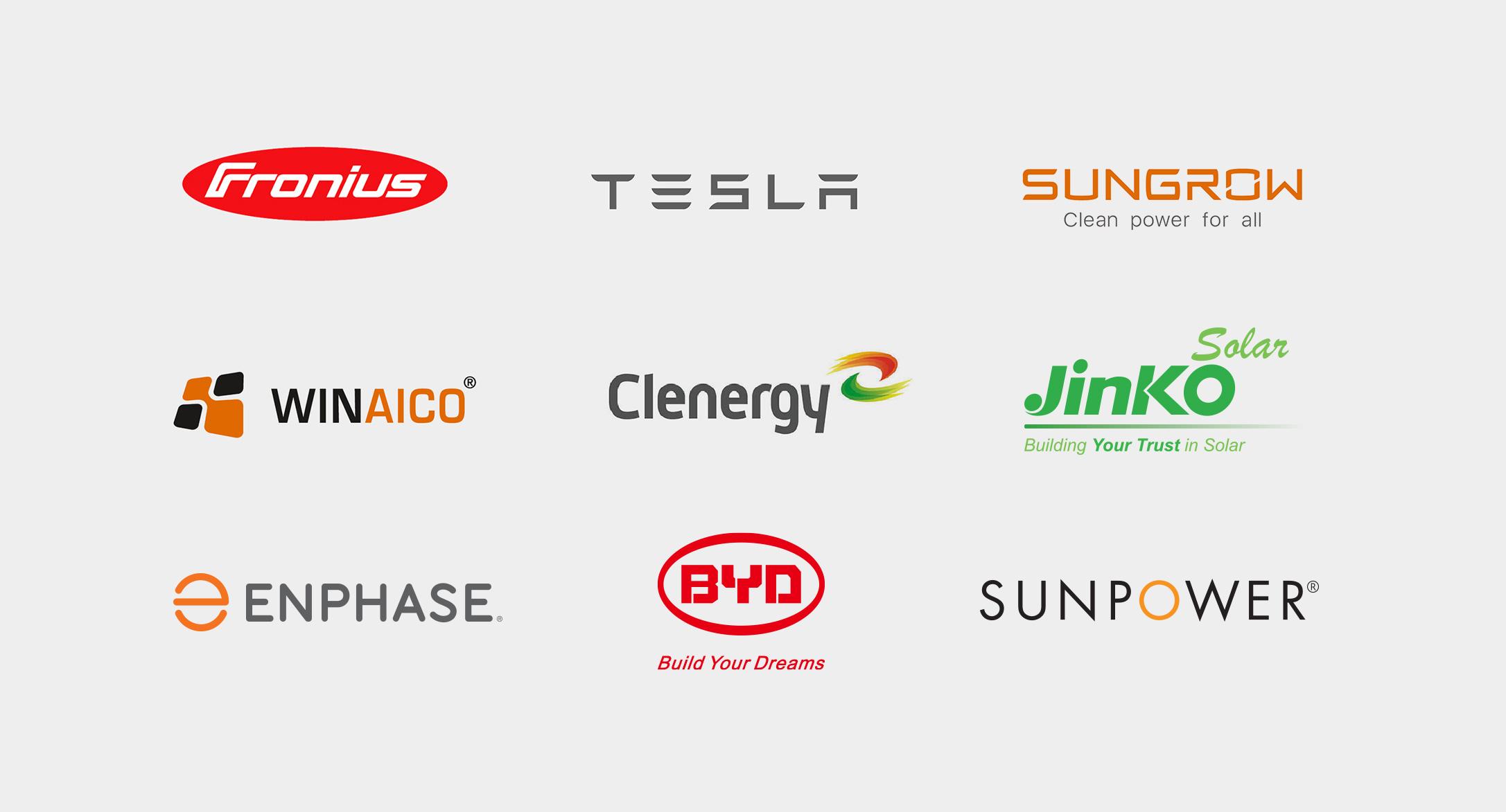 NRG partnerships and logos