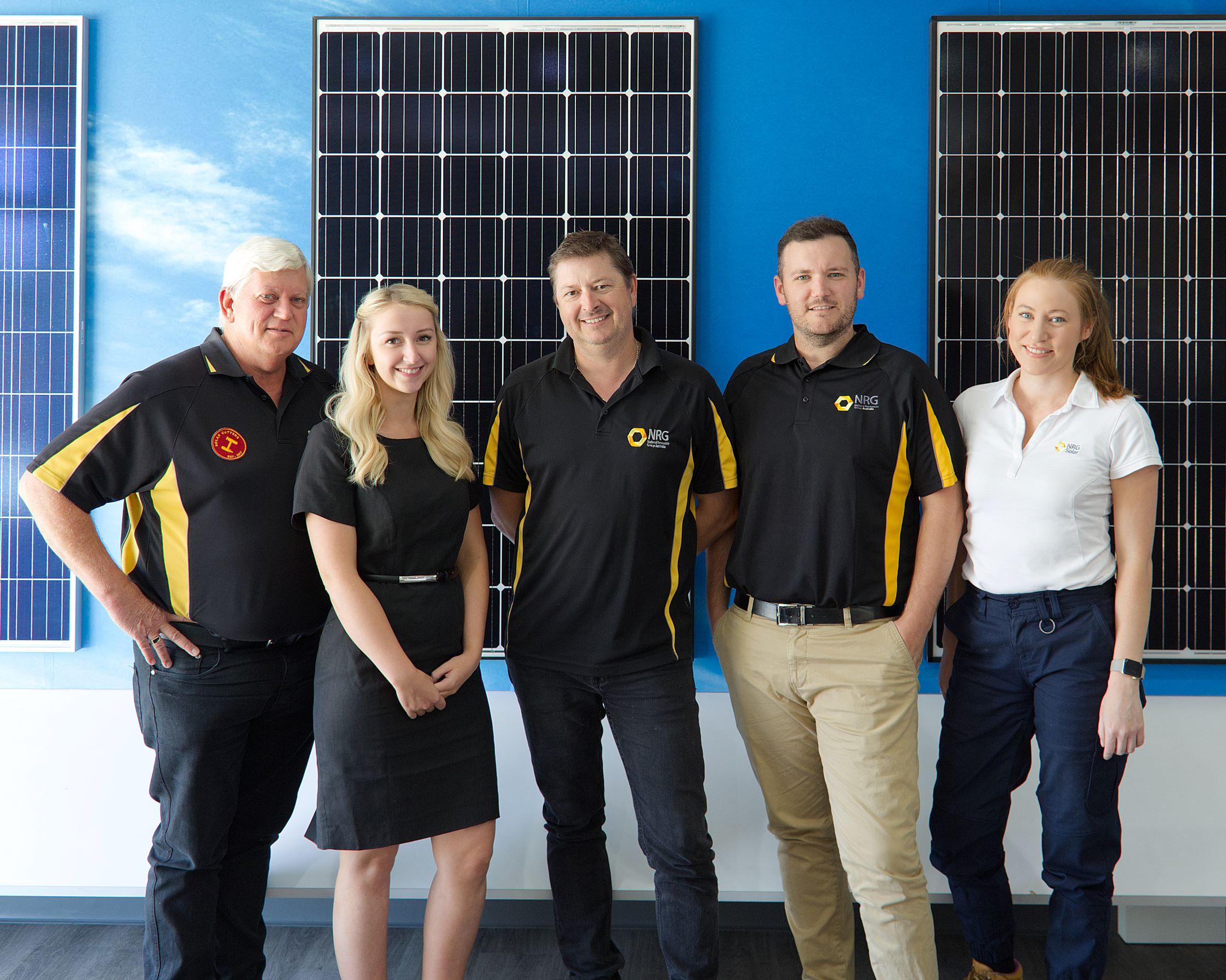 NRG Solar team photo