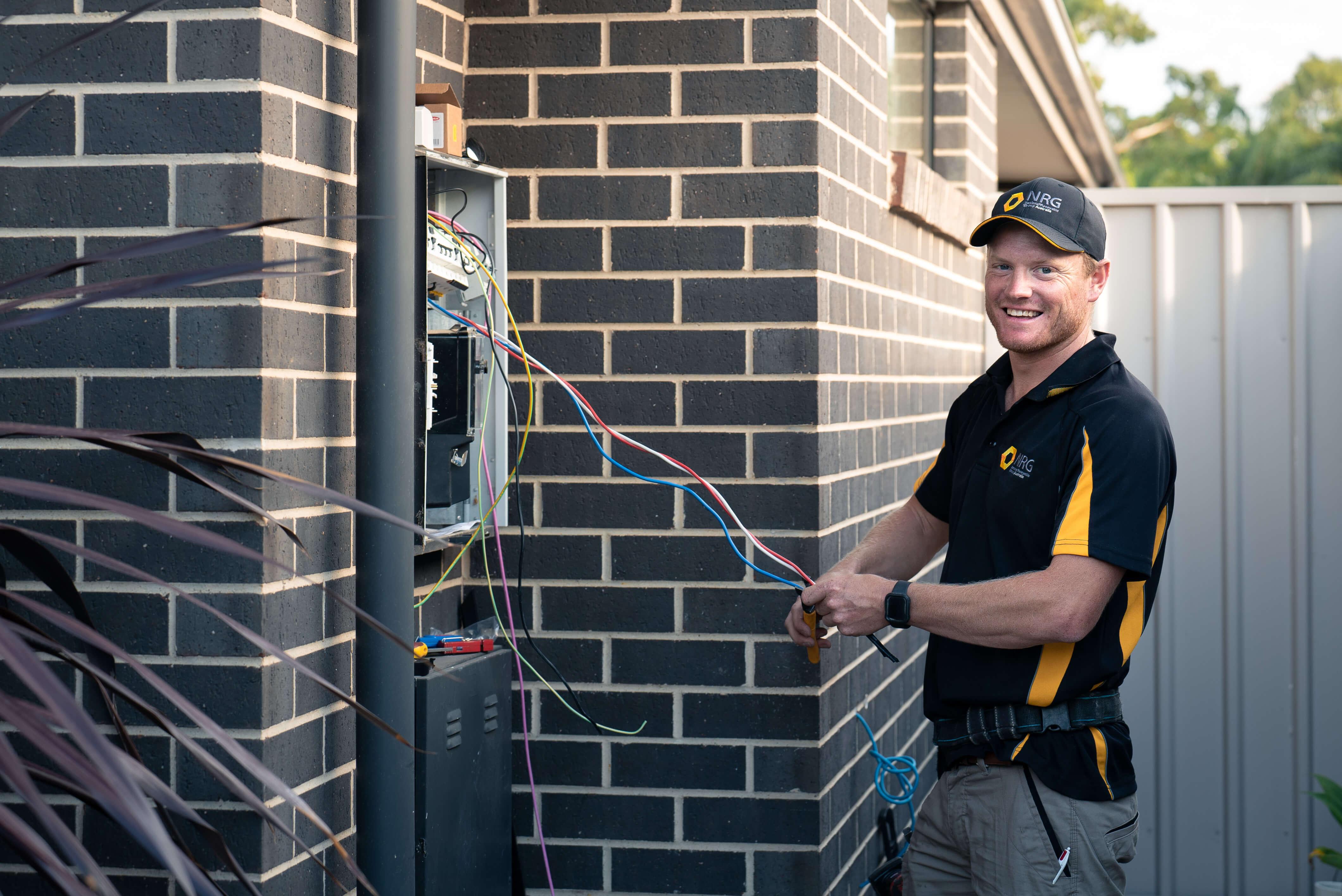 NRG solar battery maintenance and repair