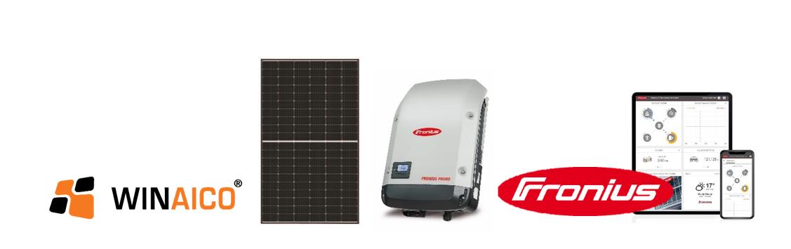 NRG Solar Premium solar panel and battery