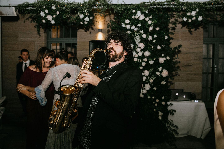 Saxophone + DJ