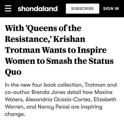 Shondaland press