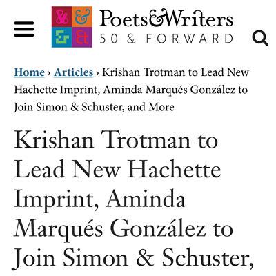 Poets Writers press