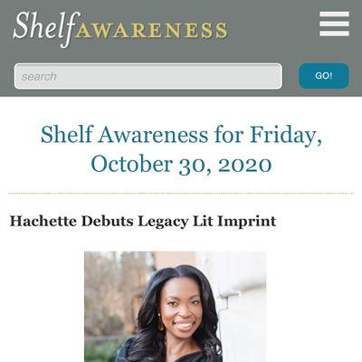 Shelf Awareness press