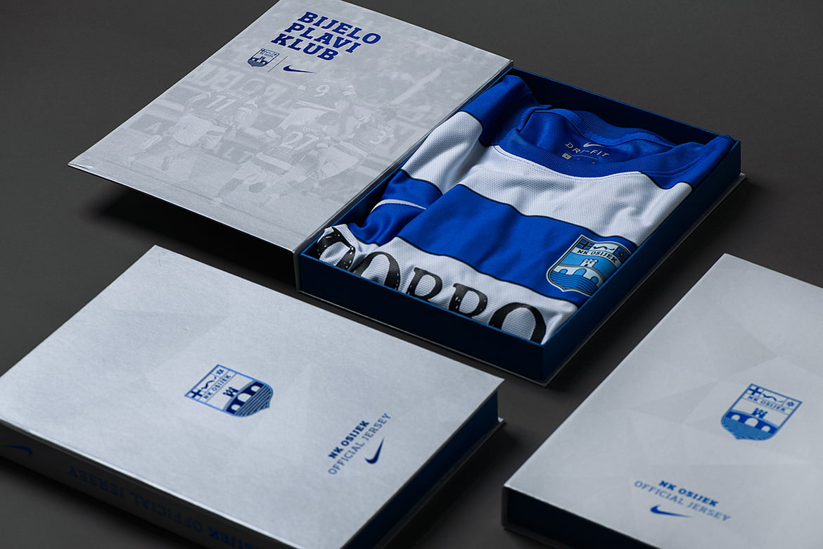 Nk Osijek jersey Packaging