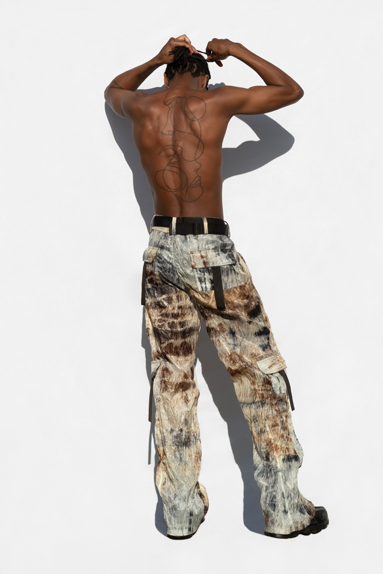 Batik Parachute Trousers
