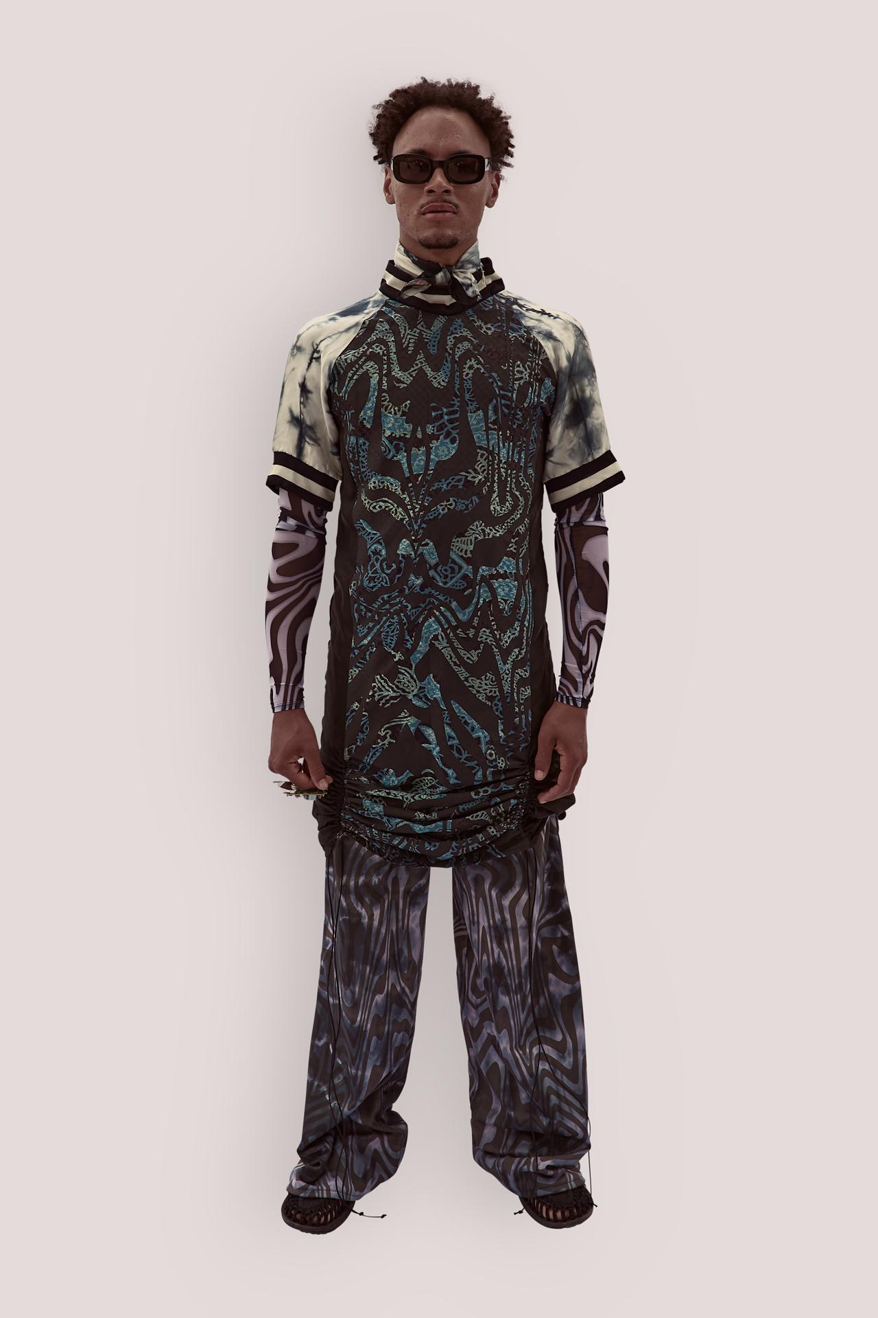 Upcycled Silk Dress