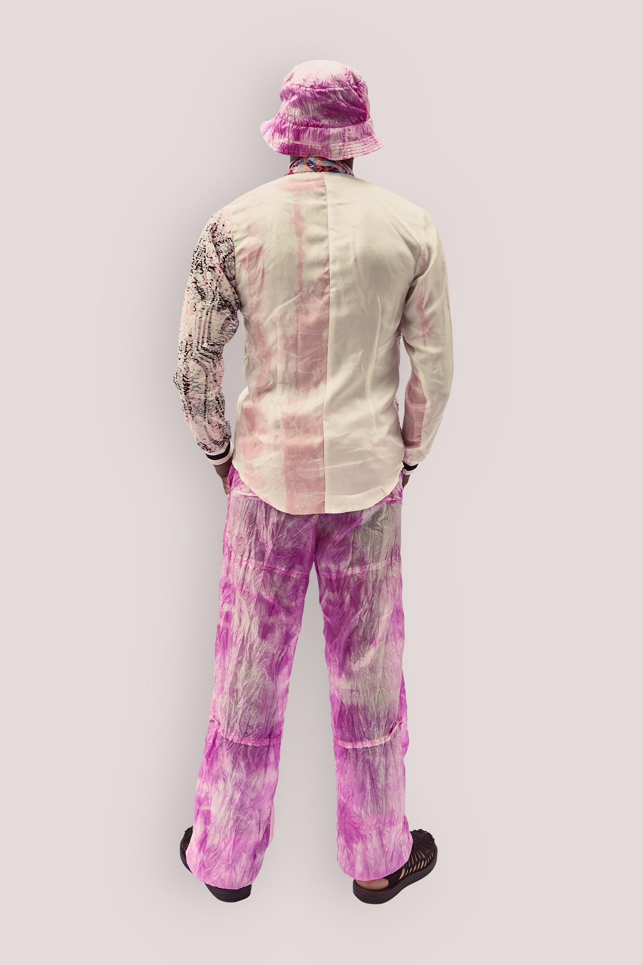Upcycled Silk Long Sleeves Shirt