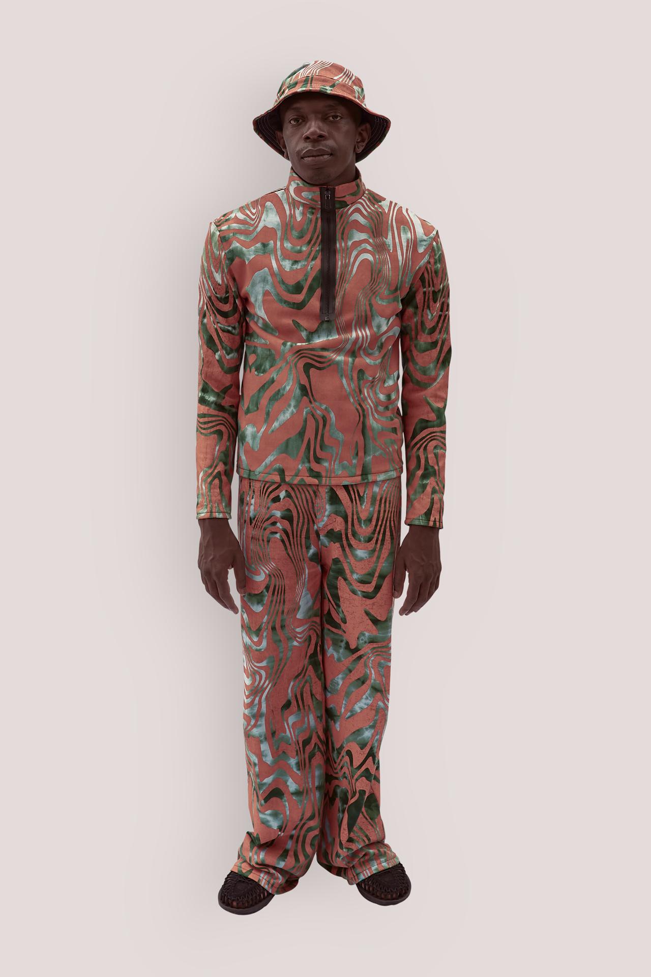 Batik printed sweapants