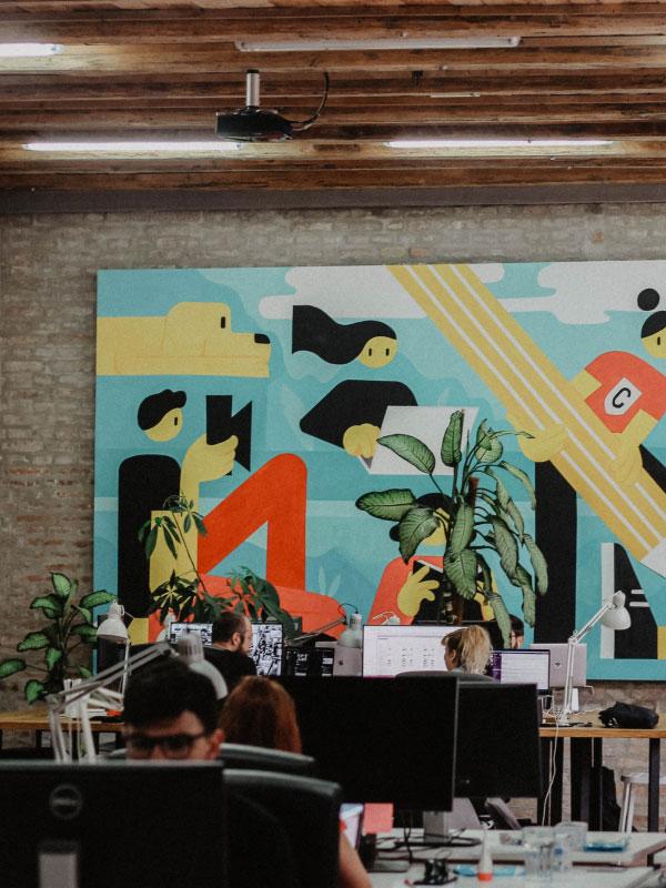 Office space in Osijek, Kroatia.