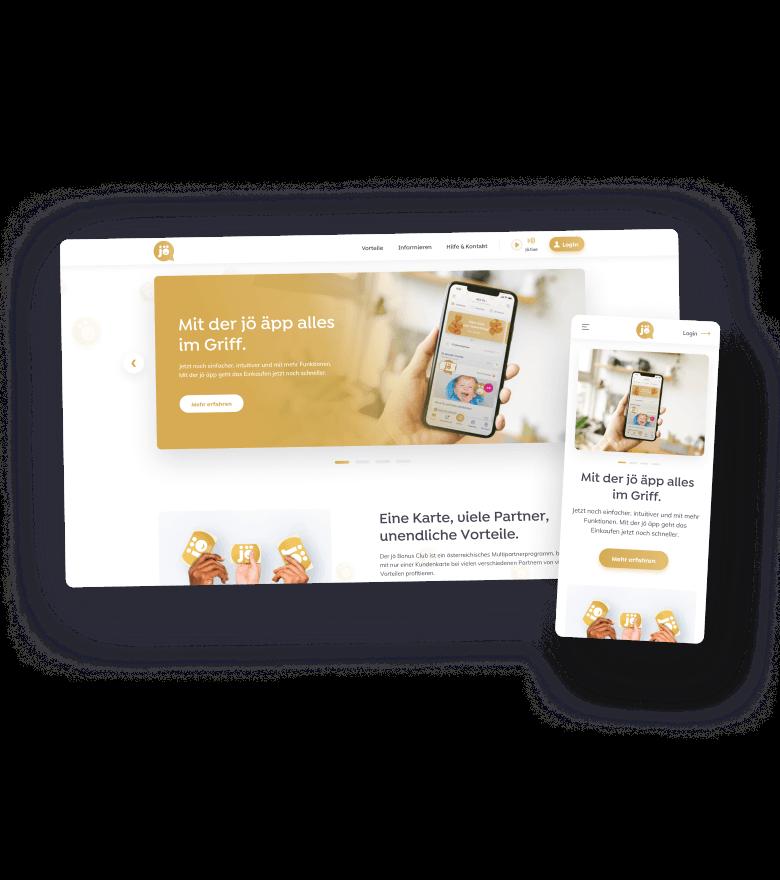 Screendesigns joe Bonus Club website