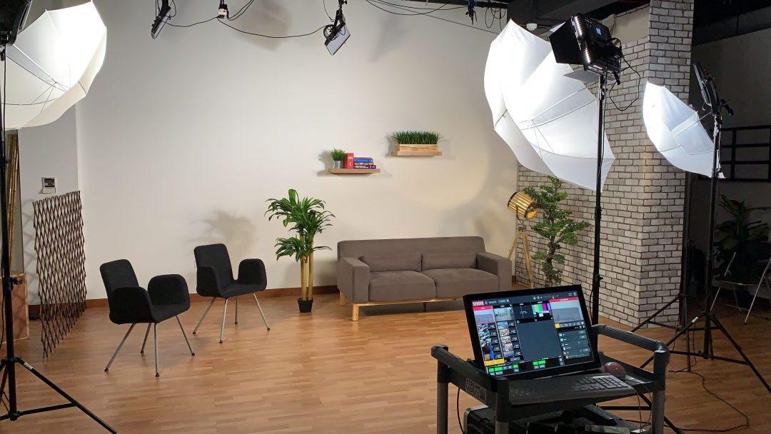 live streaming studio