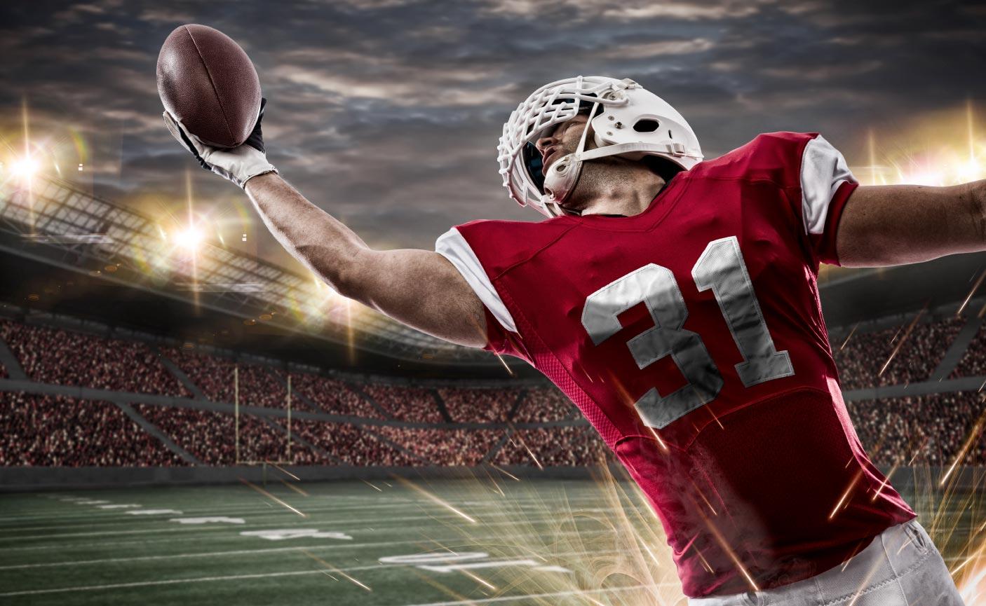 Football athlete