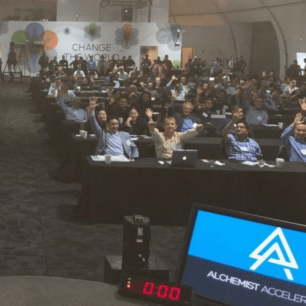 Alchemist Accelerator Conference Attendees