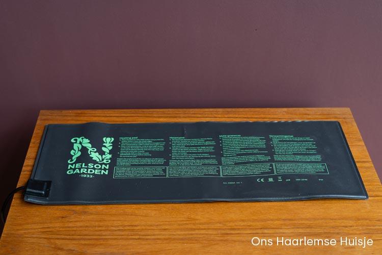 Warmtemat / Verwarmingsmat voor het ontkiemen van zaadjes voor de christia obcordatad