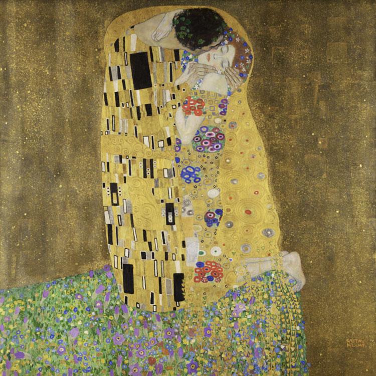 Kiss Gustav Klimt | Muso | Kunstwerk