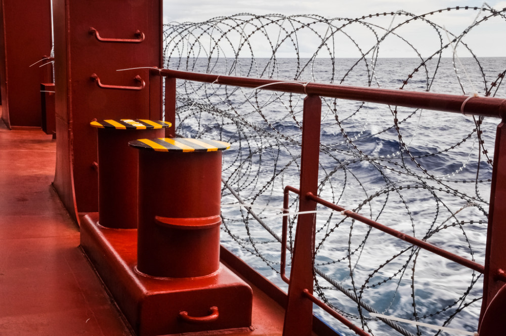 Piracy, Lost Containers, Clogged Ports, Vaccines and Meal-and-Rest-Break Rules