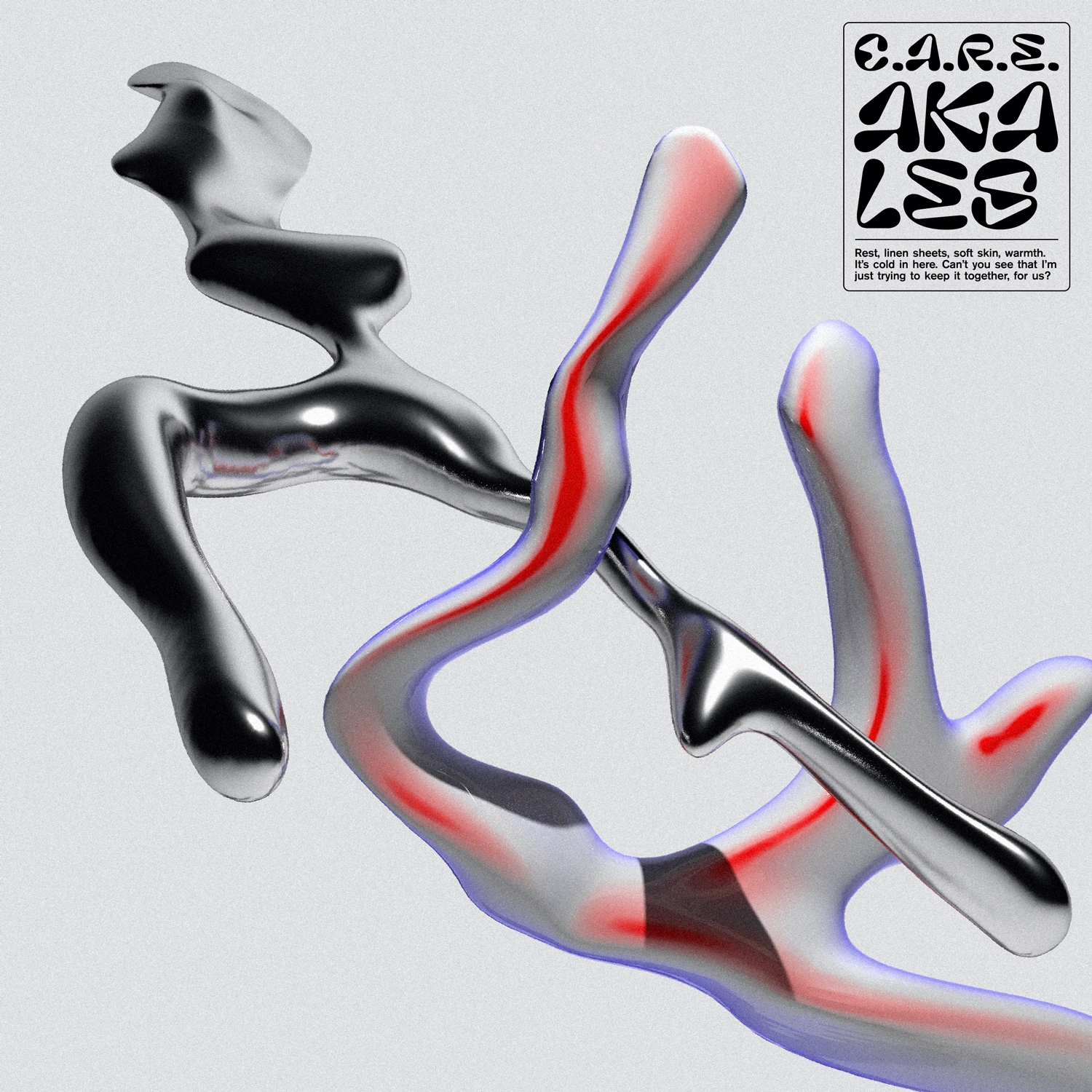 cover artwork for the single c.a.r.e. from Aka Les