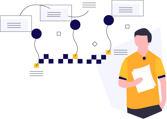 Illustration that represents learning about SAP integration