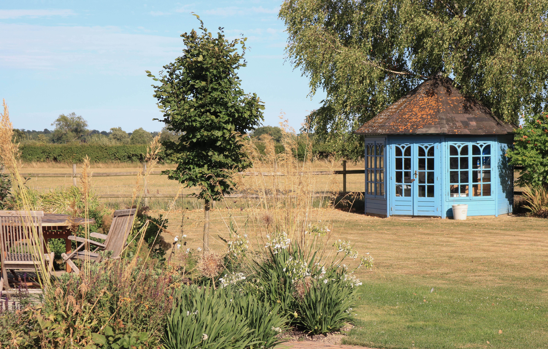 outdoor room garden with view