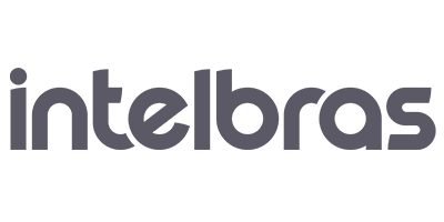 Logo da Intelbras cinza
