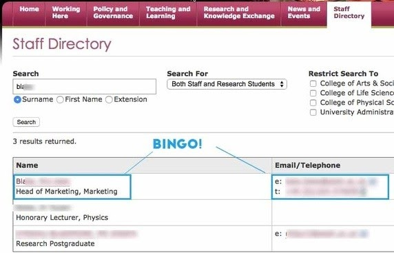 university-directory