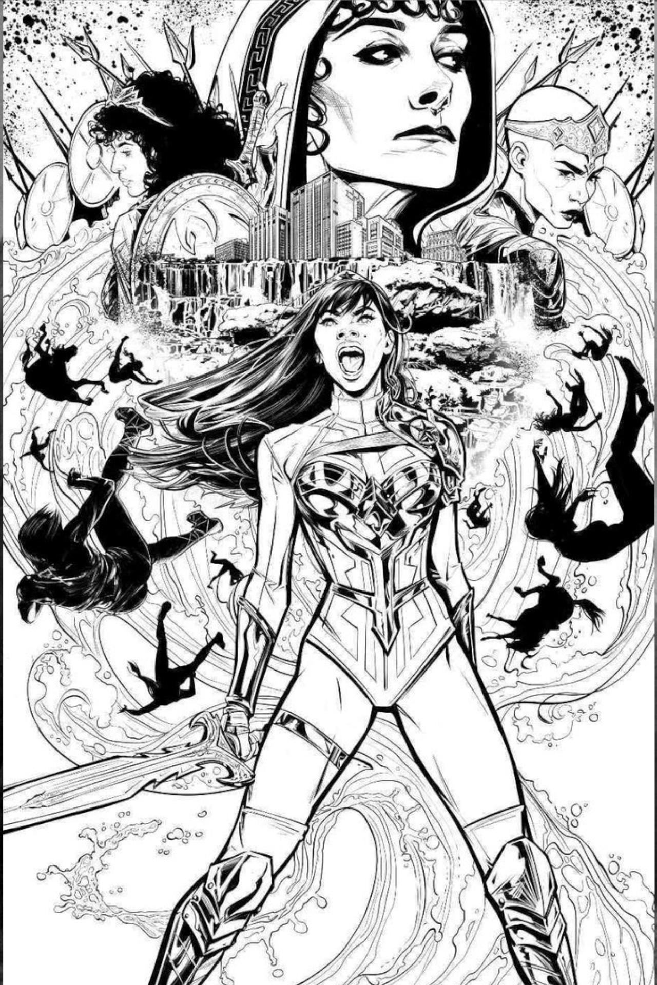 """Yara Flor, a Mulher Maravilha do DC Future State será """"promovida"""" ao universo principal dos quadrinhos estreando a primeira HQ solo de uma personagem carregando o manto de Moça Maravilha."""