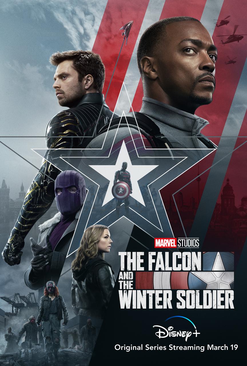 Um novo trailer de Falcão e o Soldado Invernal foi divulgado no intervalo do Super Bowl mostrando muita ação e o visual do Agente Americano e o Barão Zemo.