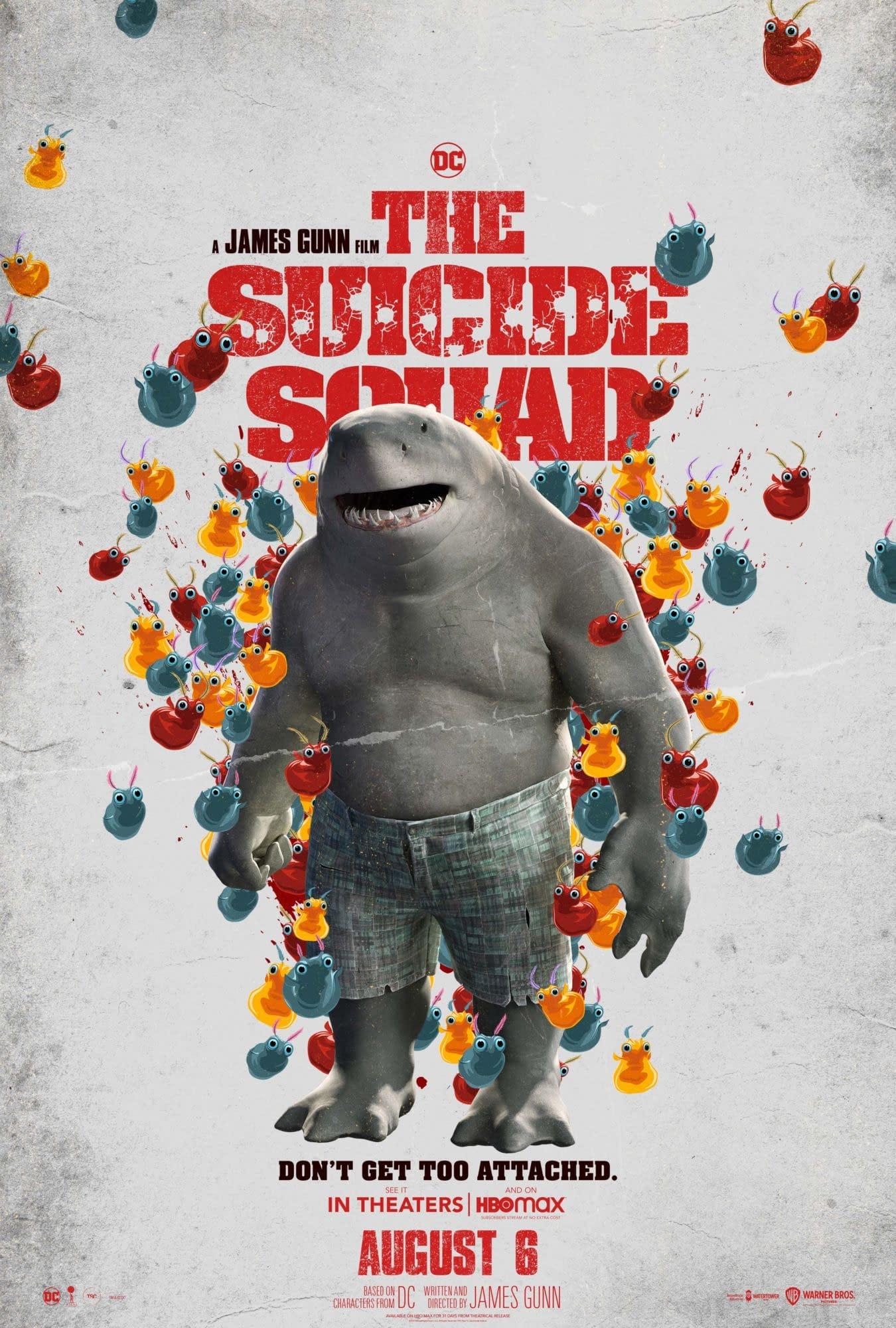 O Esquadrão Suicida de James Gunn ganhou seu primeiro trailer recheado de ação e comédia, contando com a presença de ninguém menos que Silvester Stallone como o Tubarão Rei.