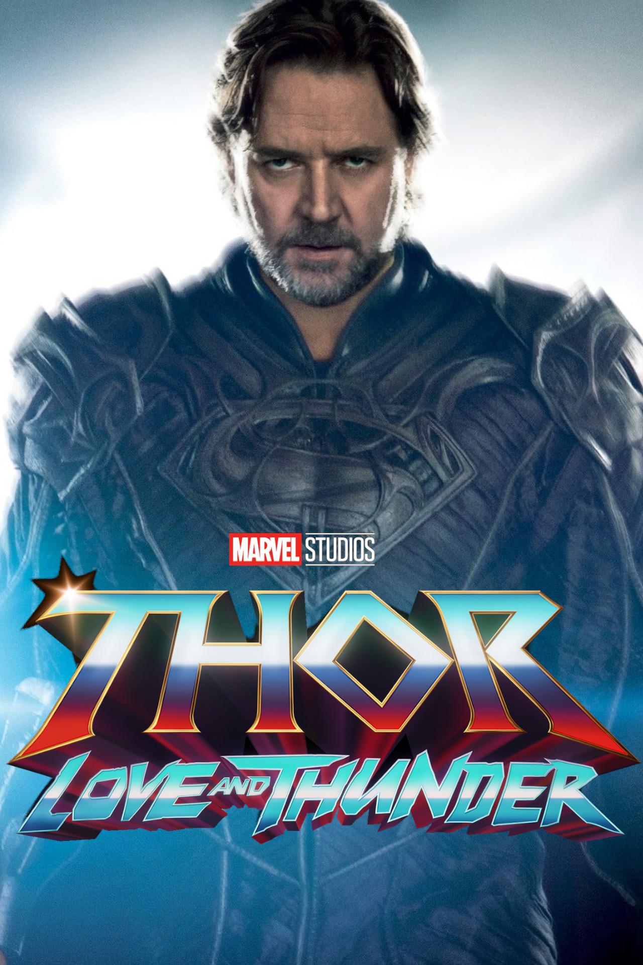 Russell Crowe foi confirmado no Universo Cinematográfico Marvel em Thor Love And Thunder e os fãs já questionam qual personagem poderia ser interpretado pelo ator ganhador do Oscar.