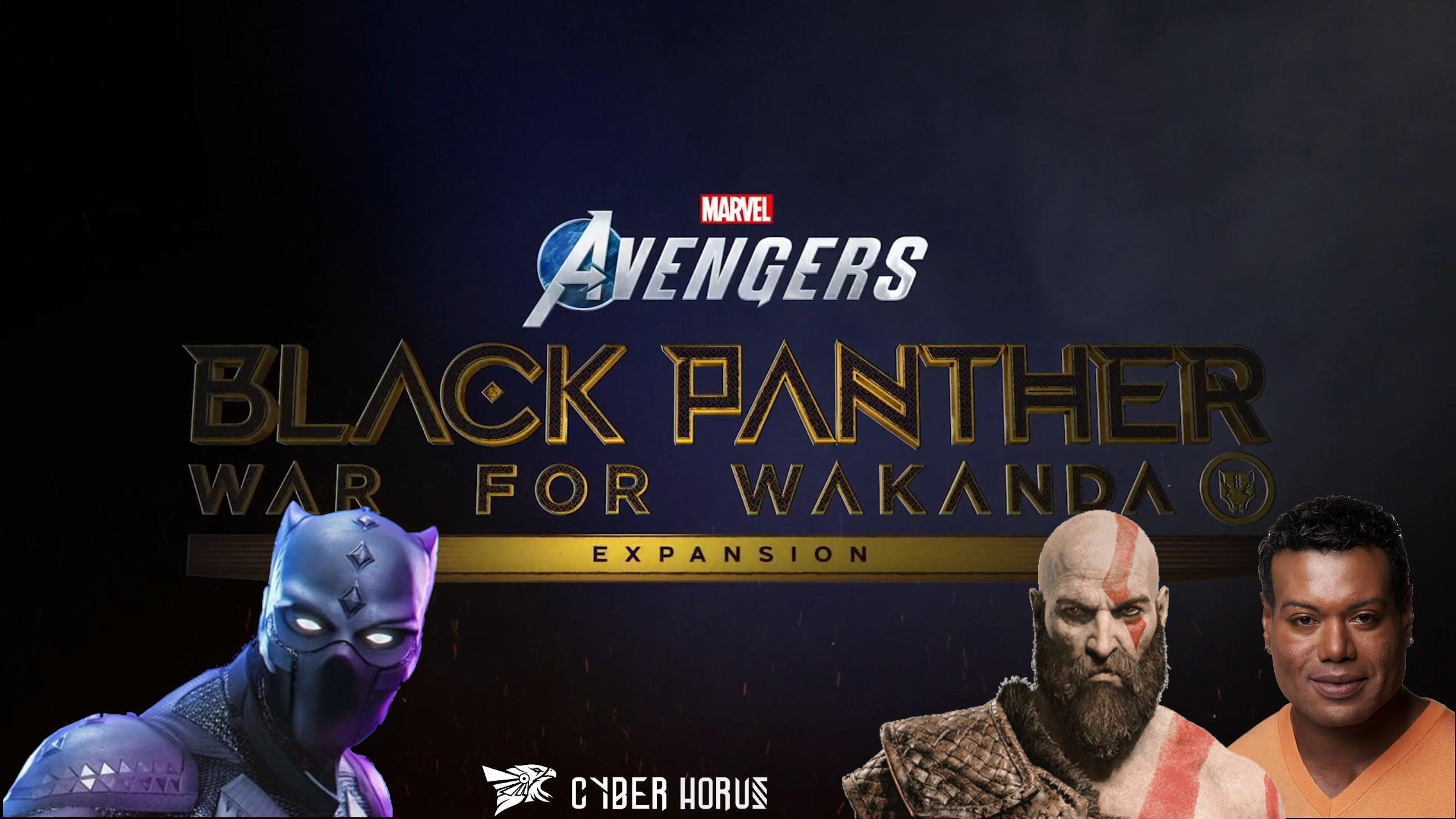 Christopher Judge, o Kratos de God of War será o protagonista da Expansão de Marvel's Avengers, War for Wakanda, onde ele será ninguém menos que o Rei T'Challa, dando continuidade ao legado do Pantera Negra
