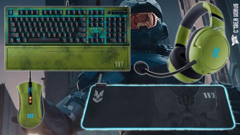 A Razer anunciou periféricos para PC personalizados de Halo Infinite que não só prometem dar um upgrade no setup, mas também fornecem cosméticos e vantagens no Halo Infinite Multiplayer.