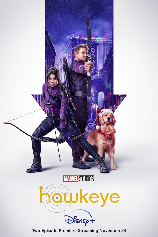 Um novo poster de Hawkeye foi divulgado pela Marvel Studios e o cataz da série que chega ao Disney Plus em novembro remete às HQs do Gavião Arqueiro.