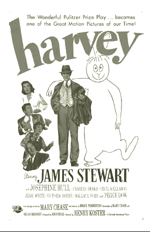 """Movie poster for """"Harvey"""""""
