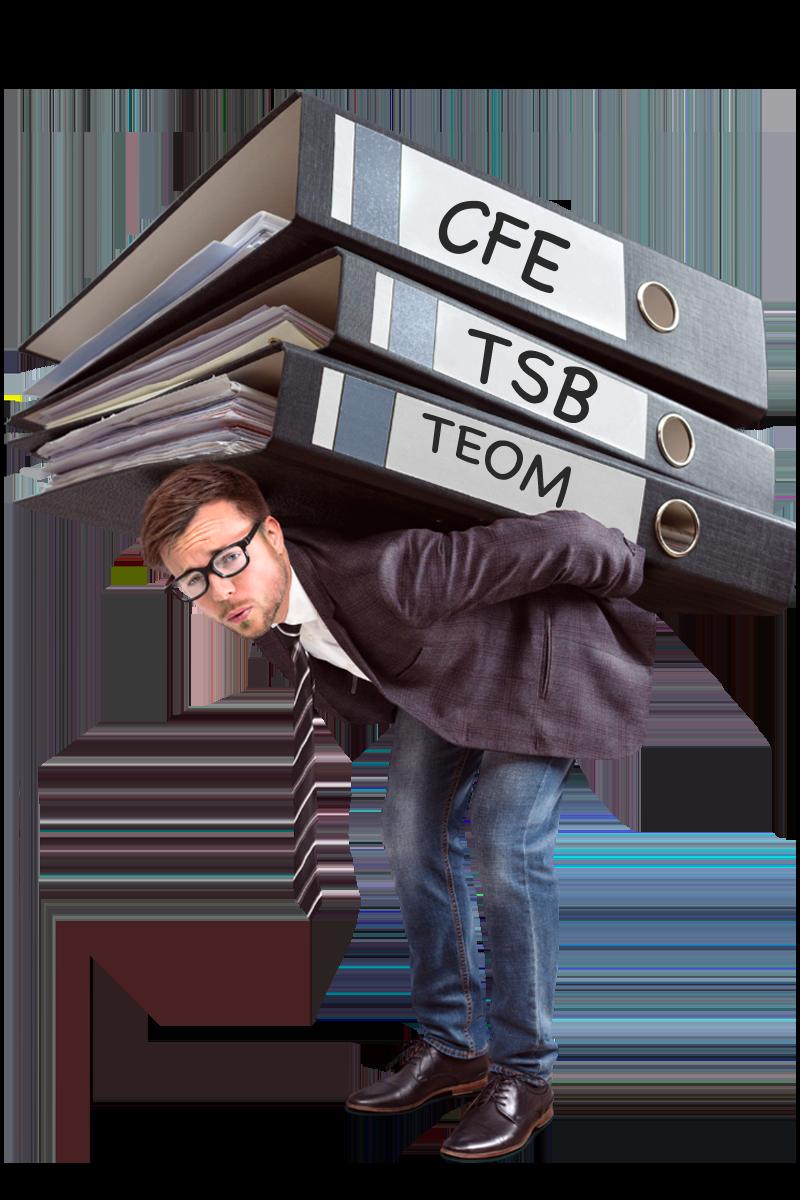 Taxes foncières, CFE, TSB, TEOM