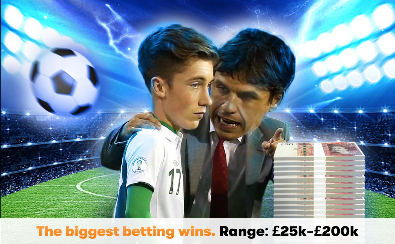 Betting wins range 25k to 200k