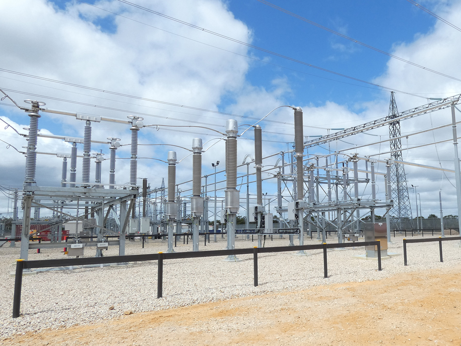 A power substation in South Australia's Cherry Gardens.
